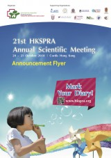 21st HKSPRA Annual Scientific Meeting